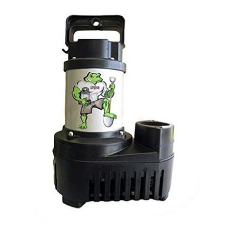 Low Voltage Pond - Big Frog BFE5500 5500 GPH Low Energy Hybrid Drive Submersible Pond Pump