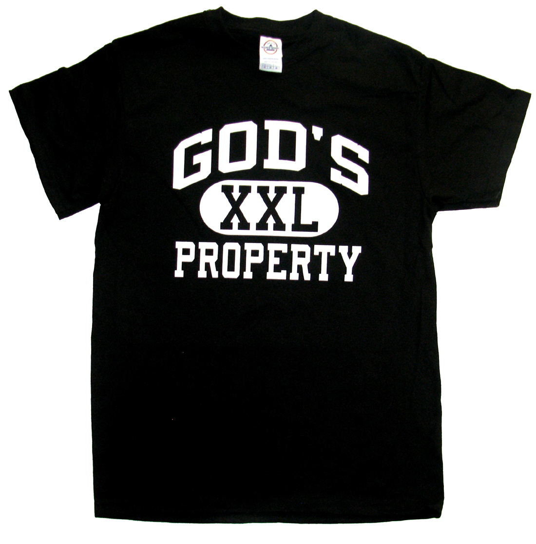 God's Property T-shirt Christian Tee Athlectic