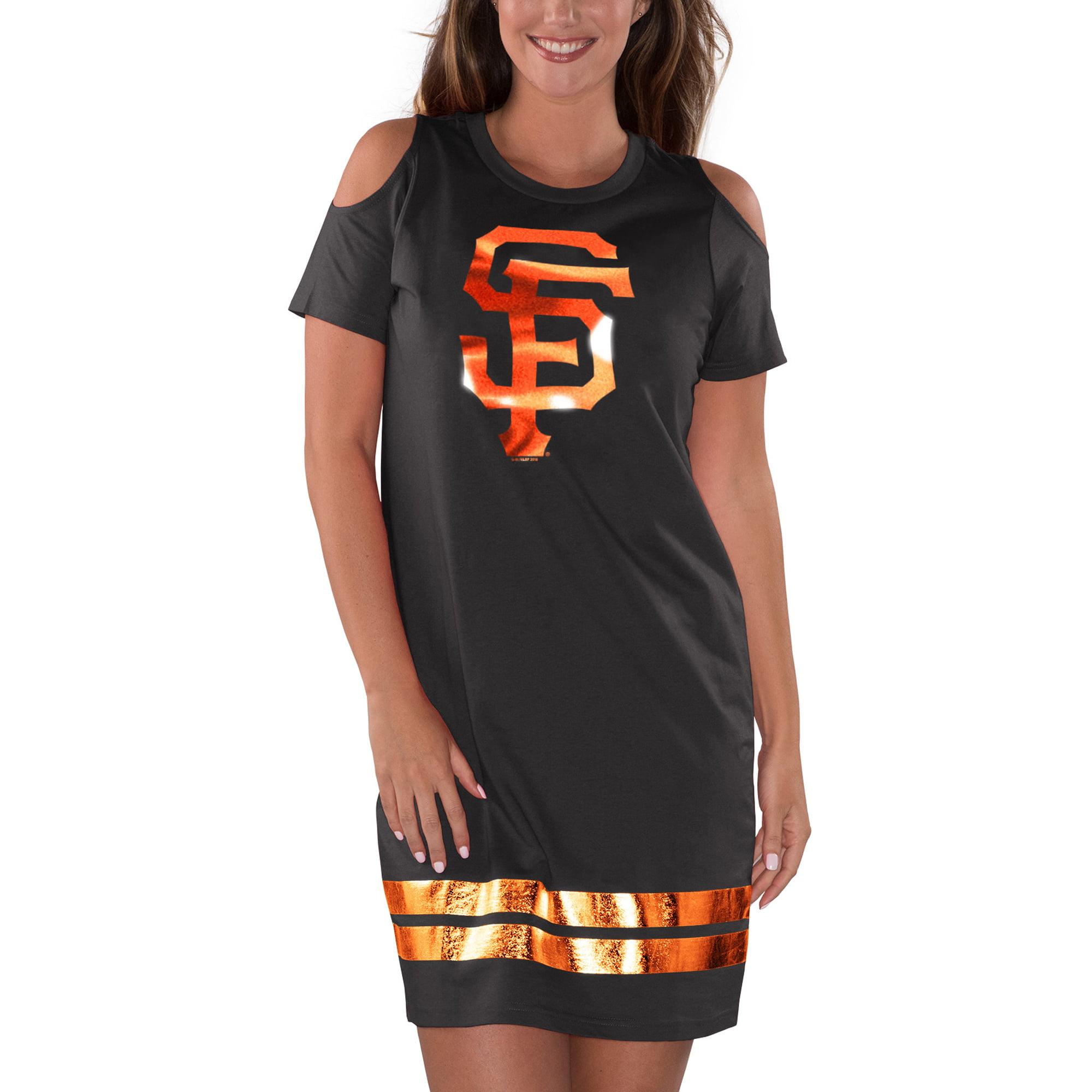 San Francisco Giants G-III 4Her by Carl Banks Women's Final's Tri-Blend Dress - Black