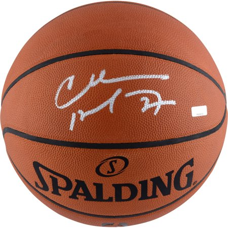 Charles Barkley Philadelphia 76ers Autographed Authentic Basketball Signed in Silver - Panini Authentic - Fanatics Authentic Certified
