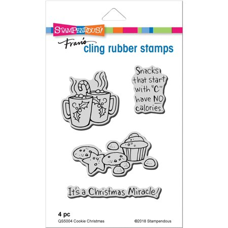 Stampendous Cling Stamp -Cookie Christmas - image 1 of 1