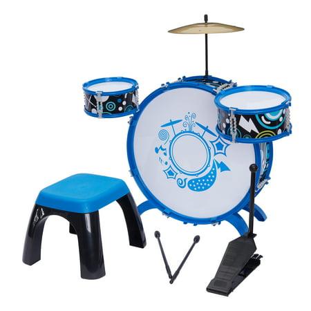 Kid Connection 9-Piece Metal Drum Set