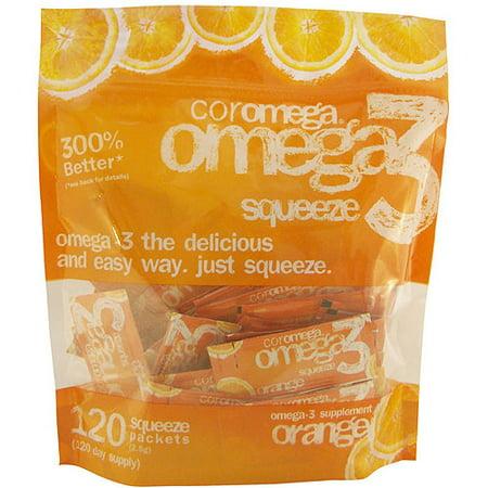Coromega - Omega-3 Squeeze Orange - 120pket(s) ()