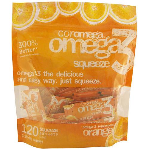 Coromega - Omega-3 Squeeze Orange - 120pket(s)