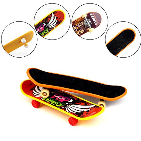 HEHALI 18pcs Finger Skateboards Professional Mini Fingerboards Toy Party Favors for Kids Christmas Birthday Gifts (12 Normal + 6 Matte) - image 2 of 4