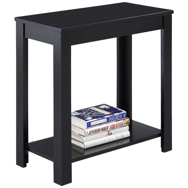 """GHP 24""""x""""12""""x24"""" Home Furniture Black Traditional Style Wood"""