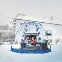 Bubble Tent Pop up Canopy Family Camping Gazebo 10x10 Blue