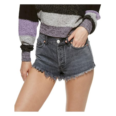 We The Free Womens Button Fly Relaxed Cutoff Shorts