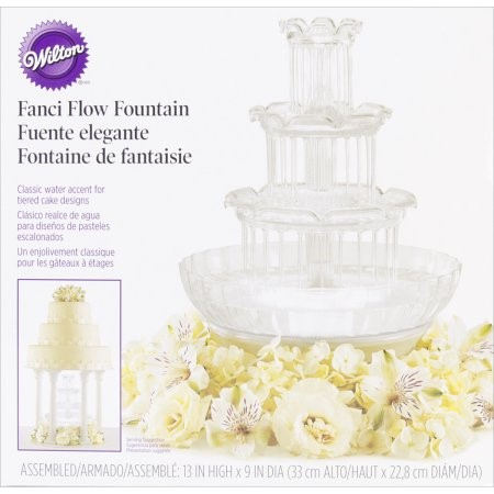 Wilton Cake Assembly Set, Fanci Flow Fountain