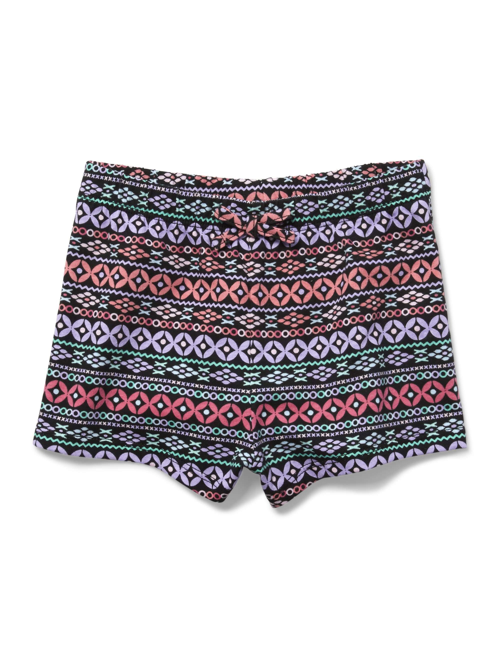 Printed Knit Short (Baby Girls & Toddler Girls)