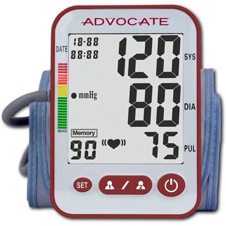 Advocate Arm Blood Pressure Monitor, Large Cuff