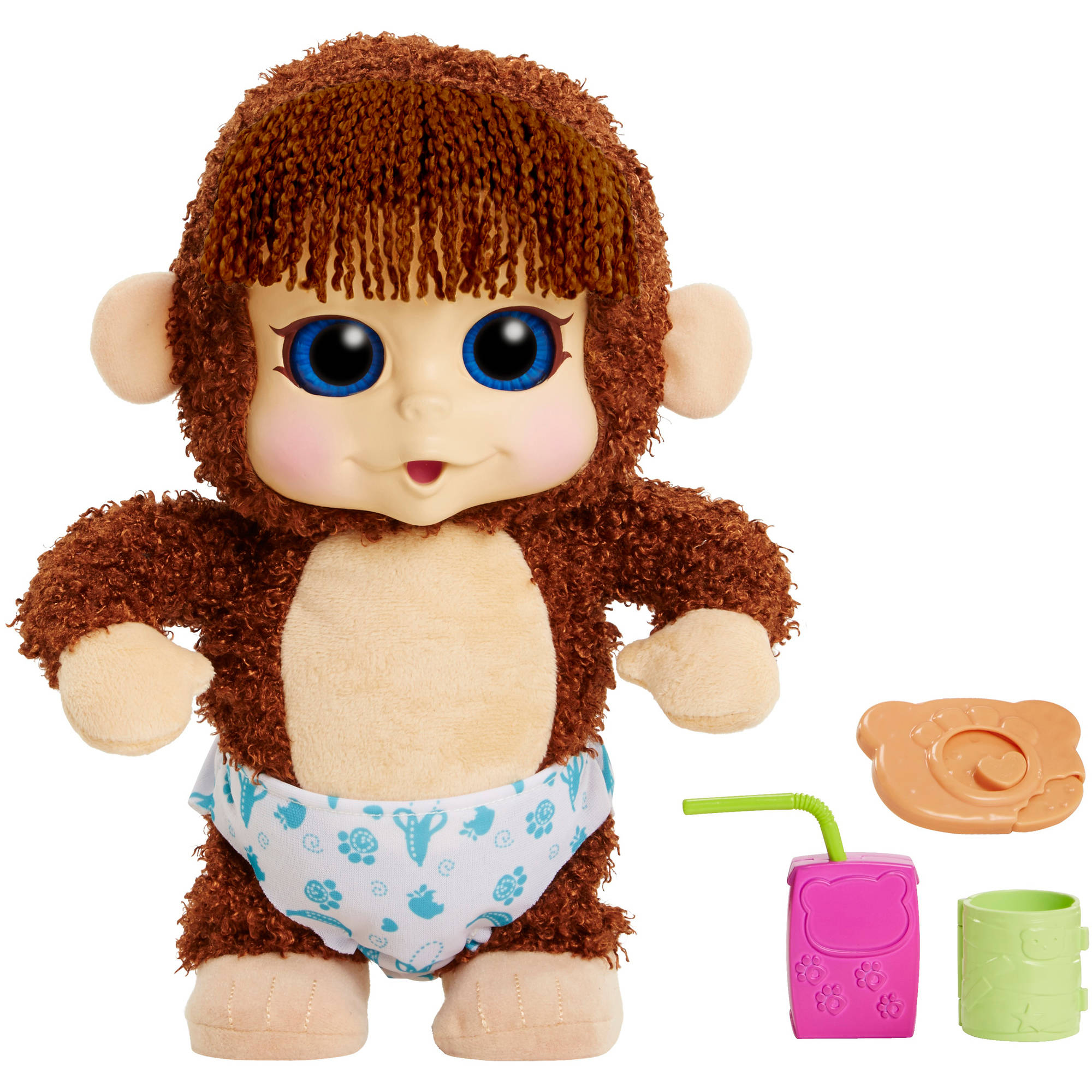 Animal Babies Feature Monkey, Jumpin Lil Monkeys, Boy