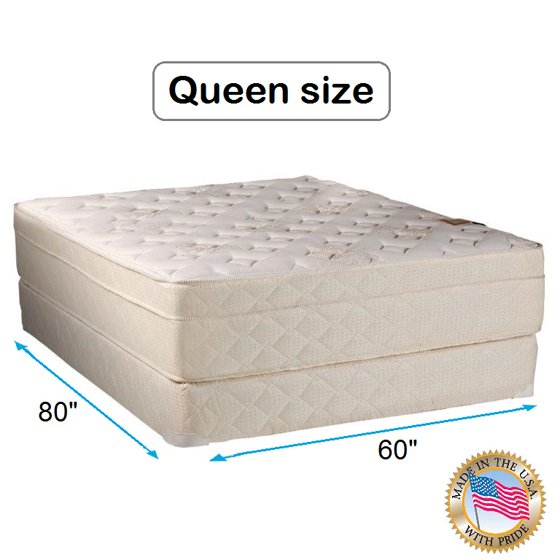 dream solutions usa beverly hills firm foam encased eurotop pillow top mattress and box spring. Black Bedroom Furniture Sets. Home Design Ideas