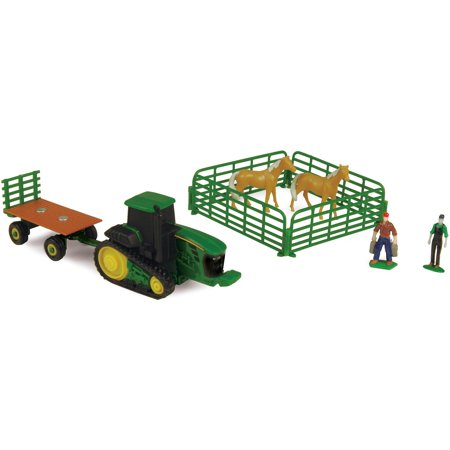John Deere Toy Tractor & Farm Set, Toy Ranch, 10