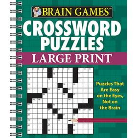 Brain Games Crossword Puzzles Large