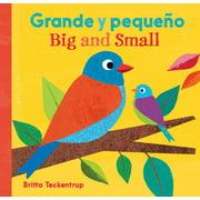 Big And Small/Grande y Pequeno (Board Book)
