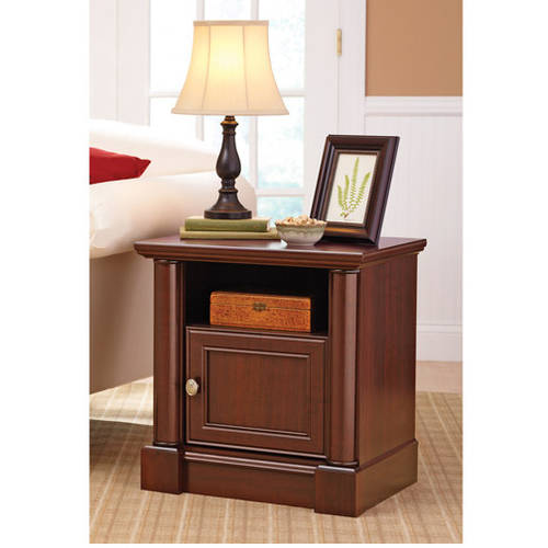 Better Homes and Gardens Ashwood Road Nightstand, Cherry Finish