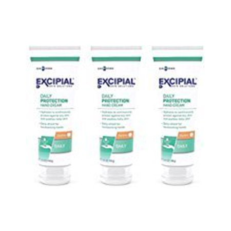 Hand Protection - Hand Cream Daily Skin Protection Hydrates & Soothes 3.5 oz Pack of 3 by Excipial