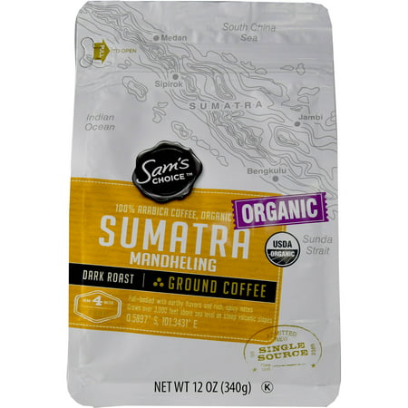 Sam's Choice Sumatra Mandheling Ground Coffee, 12