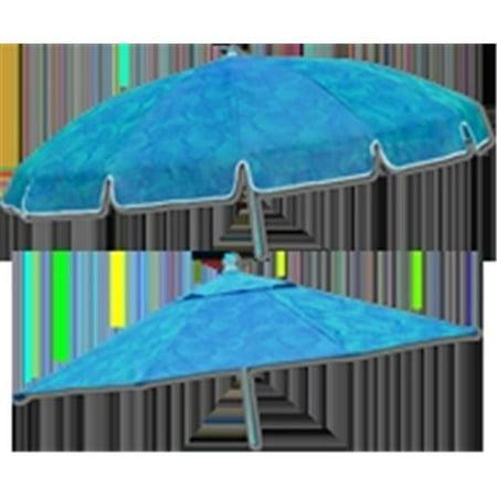 Pool Party 7.5 ft. Mesh Jungle Print Umbrella