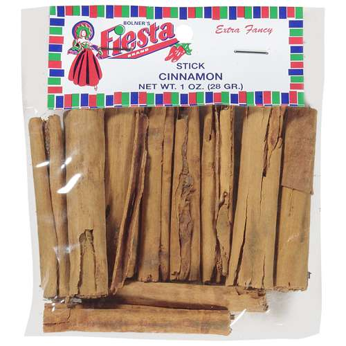 (4 Pack) Fiesta Brand Cinnamon Sticks, 1 oz bag