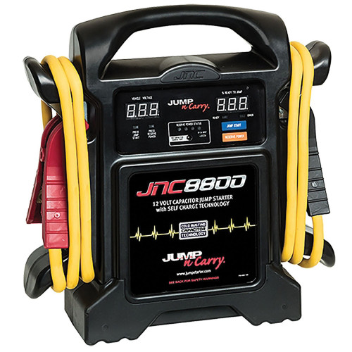 Jump-N-Carry JNC8800 800 START ASSIST AMP 12V CAP J
