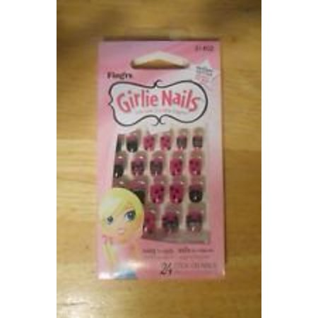 Fing'rs Girlie Stick on Nails 31402 24 Nails Paws & Cats Halloween, By Fingrs Girlie](Cross Halloween Nails)