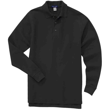 River's End Mens Long Sleeve Ezcare Sport  Shirt  Casual  Polo