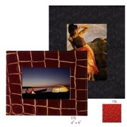 Raika RO 176 RED 5in. x 7in. Wide Border Frame - Red