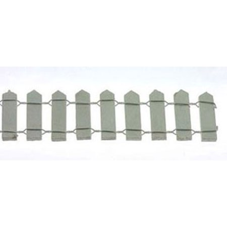 - Dollhouse 1 Inch White Picket Fence 18 Inches Long