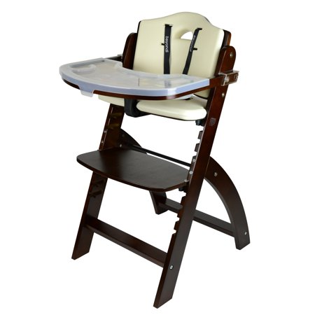 Abiie Beyond Wooden High Chair With Tray Walmart Com