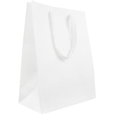 JAM Paper Heavy Duty Kraft Gift Bag, Large, 10