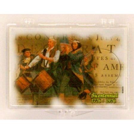 1976 Bicentennial Quarter Dollar 2X3 Coin Snap Lock Holders