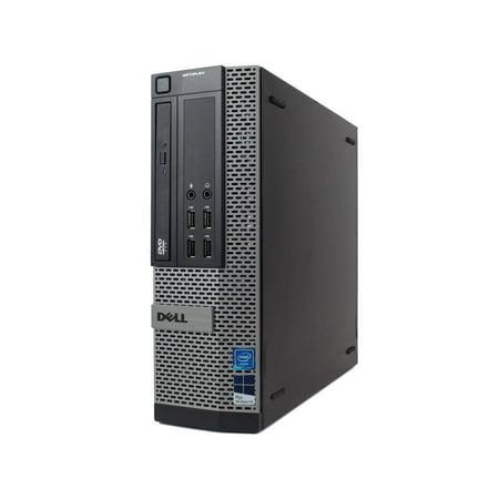 Refurbished Dell Optiplex 9010 Desktop Computer - Intel Quad Core i7 up to 3.8GHz, 16GB RAM, New 2TB Hard Drive, Windows 10 Pro 64-Bit, WiFi (Prepared by ReCircuit) -  9010 SFF