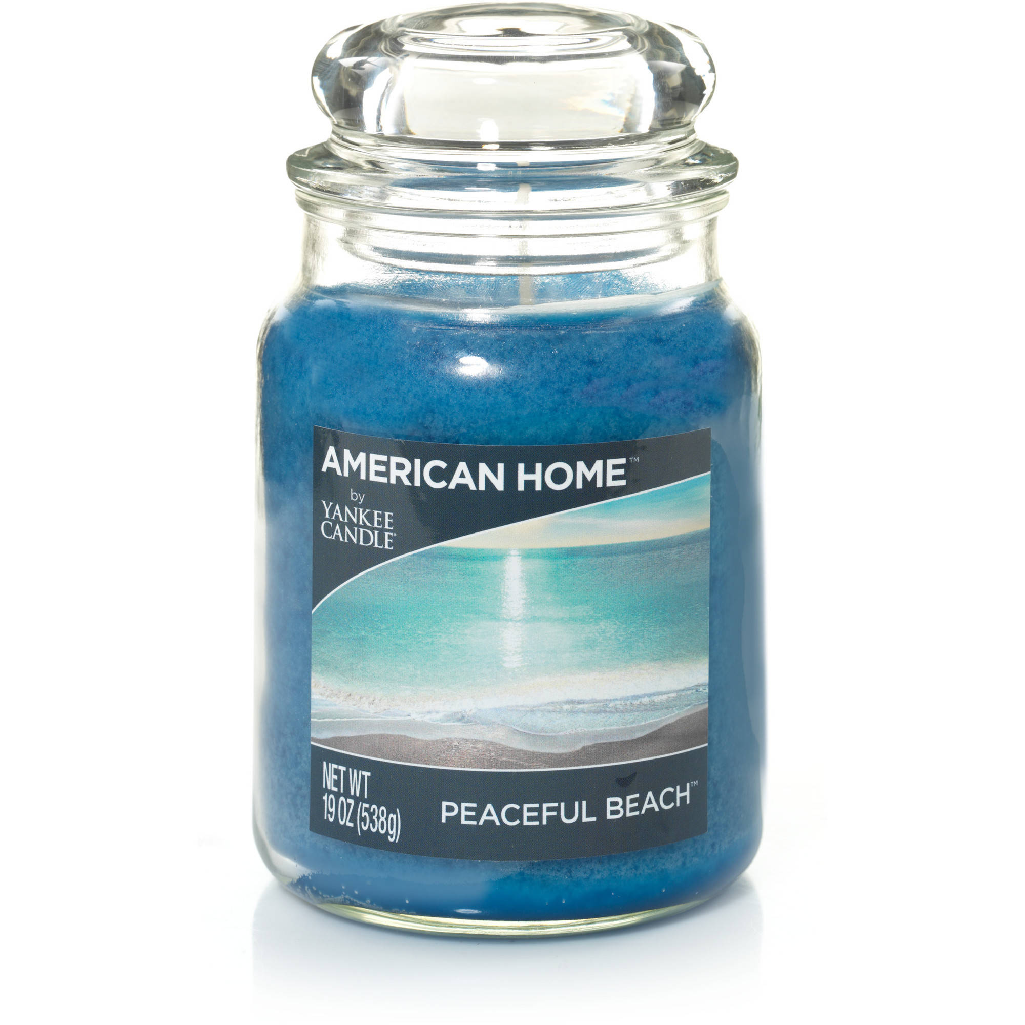 American Home by Yankee Candle Peaceful Beach, 19 oz Large Jar