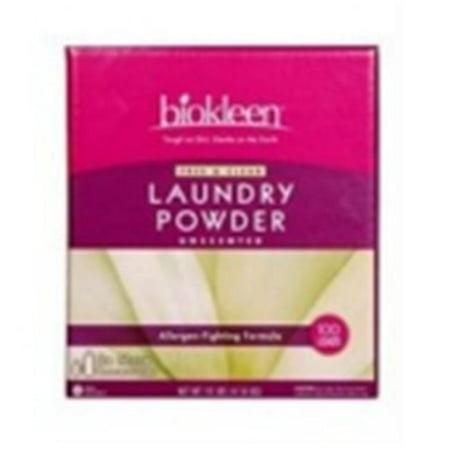 Biokleen 61003 Free & Clear Laundry Powder- 10lbs