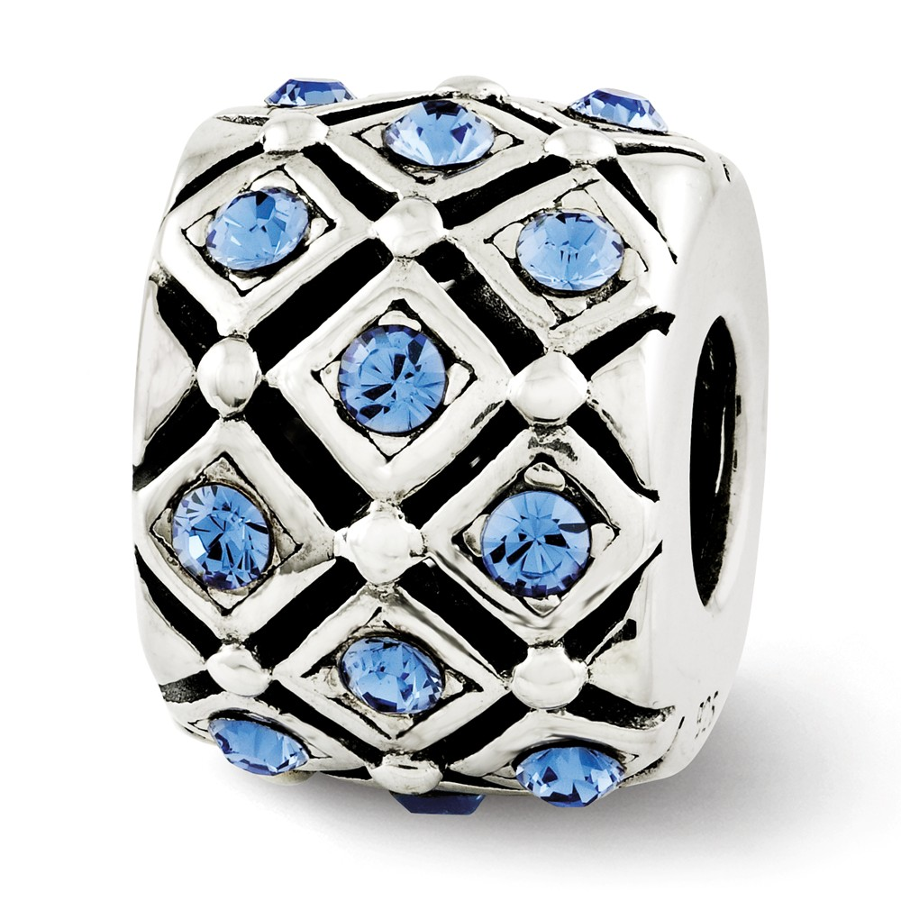 Sterling Silver Reflections September Swarovski Elements Bead