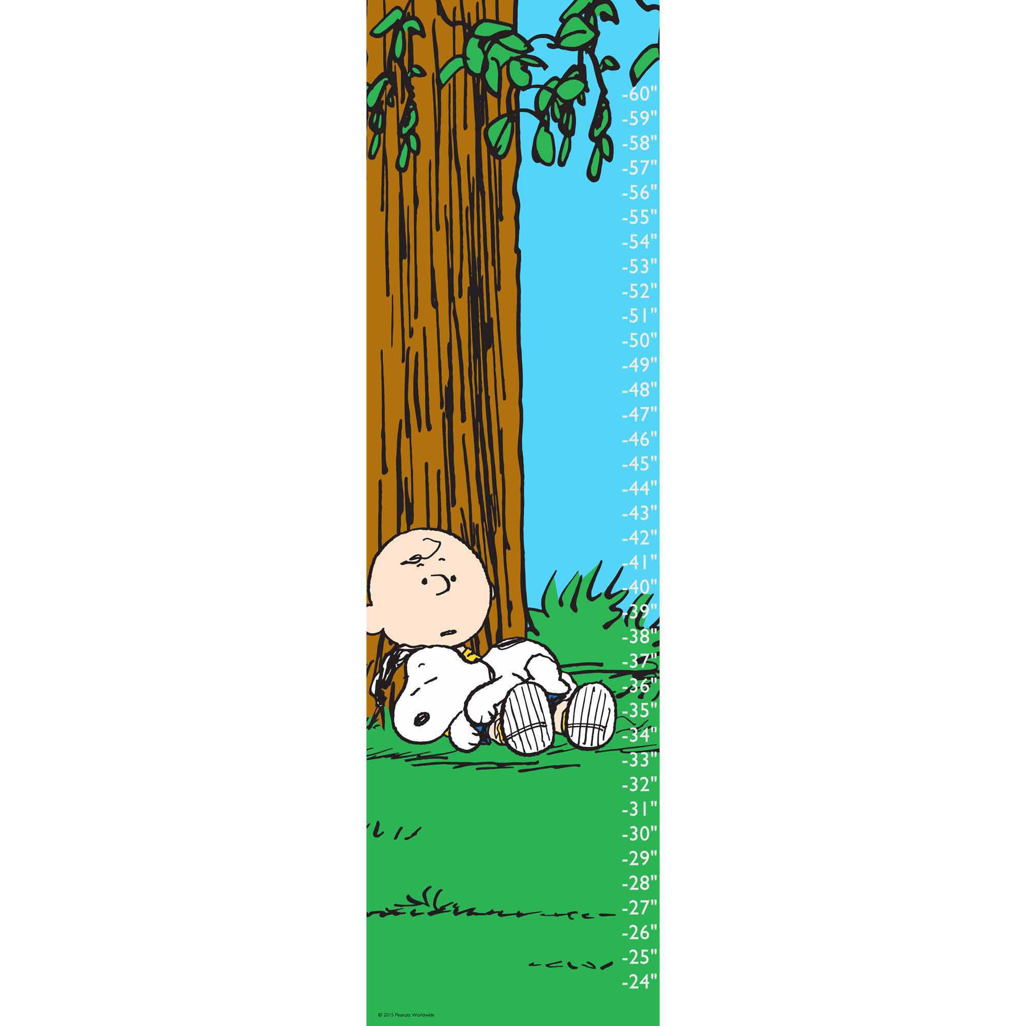 Peanuts Snoopy and Friend Canvas Growth Chart