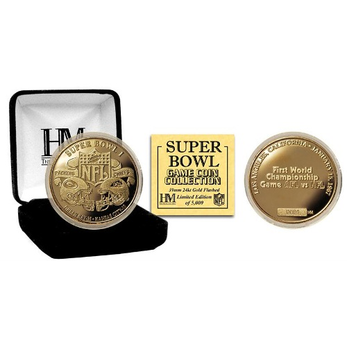 NFL Commemorative Coin by The Highland Mint - Super Bowl I