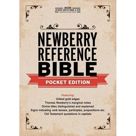 Newberry Reference Bible Pocket Edition Walmart