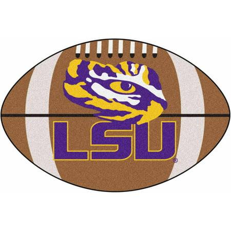 Louisiana State University Football Mat Football Field Mat