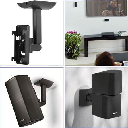 Lifestyle UB-20 SERIES II Bracket,  Wall Ceiling Bracket Mount Support For Lifestyle UB-20 SERIES 2 II Speaker (2.5 Wall Mounted Bracket)