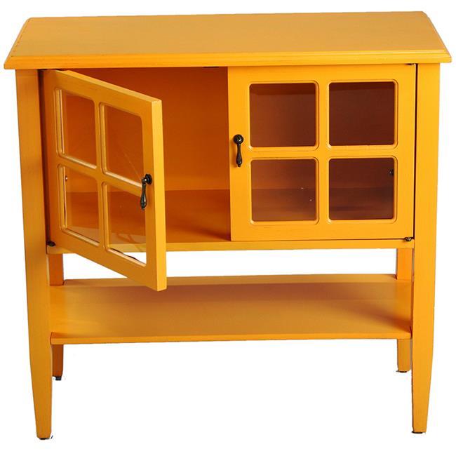 Heather Ann Creations W191028-1151 Vivian 2-Door Console ...