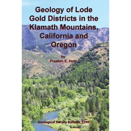 Geology of Lode Gold Districts in the Klamath Mountains, California and Oregon - Oregon District Halloween