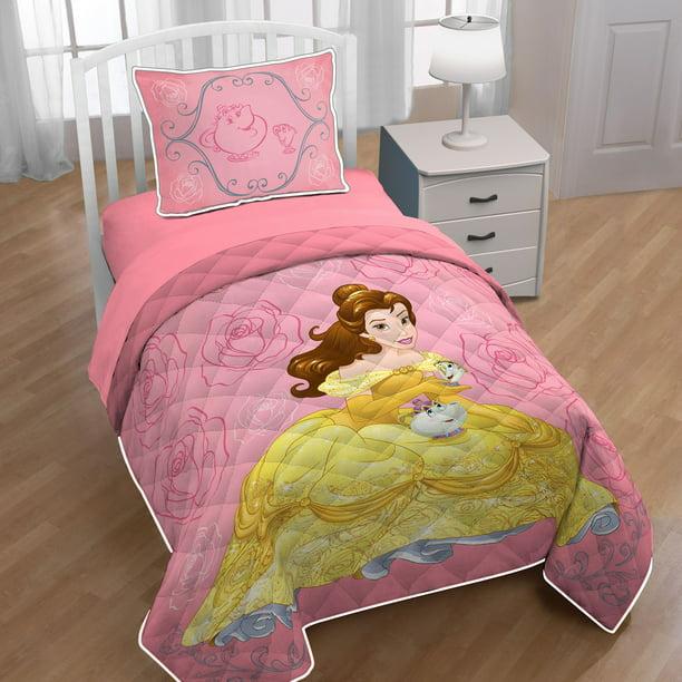 Disney Beauty And The Beast Belle Twin Full Quilt Sham Set Walmart Com