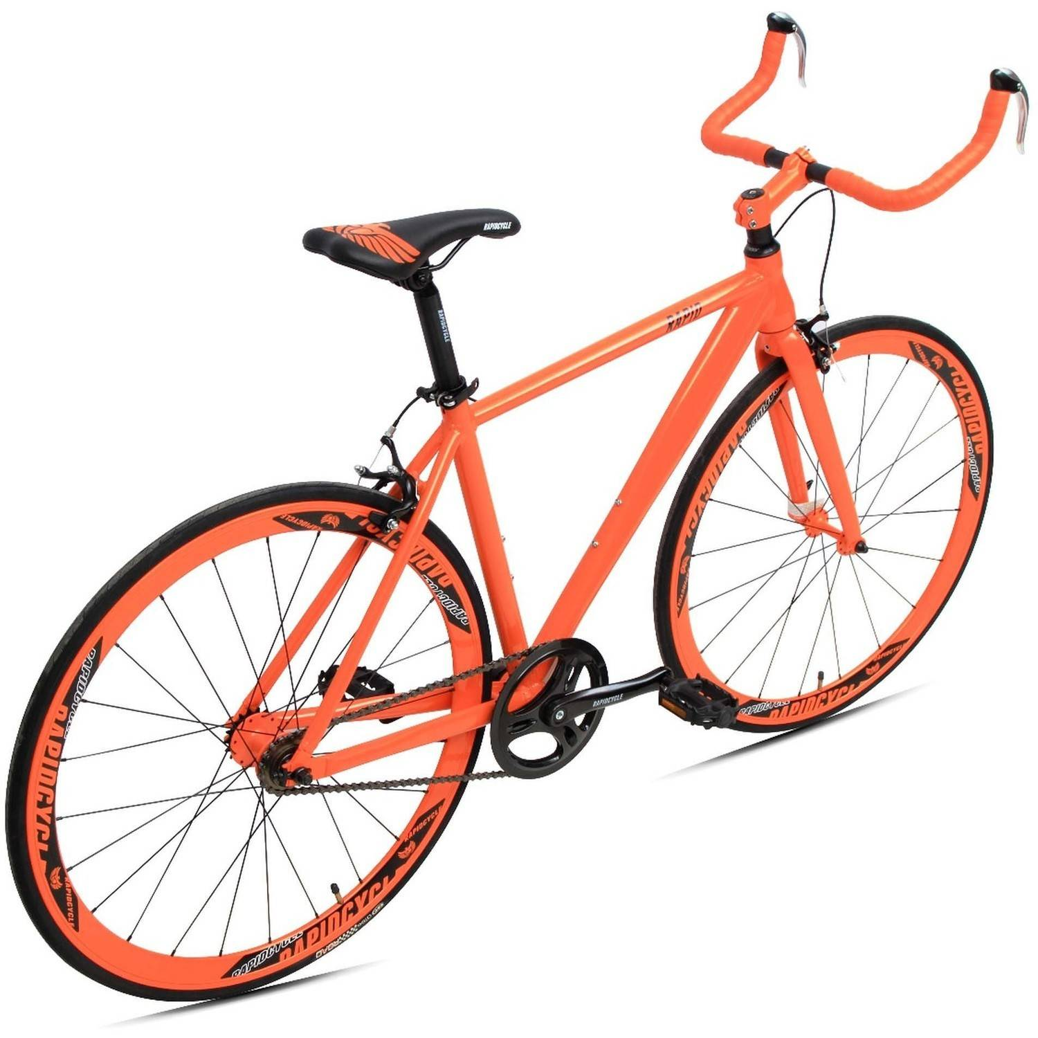 700C Evolve Bullhorn Aluminum Fixed Gear Bike