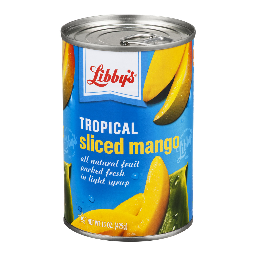 Libby's Tropical Sliced Mango, 15.0 OZ