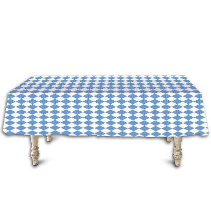 Oktoberfest Tablecover 54in. x 108in. Party Decoration (1/pkg) Pkg/12, Create Stunning Eye-Catching Displays By Beistle (Oktoberfest Table Decorations)