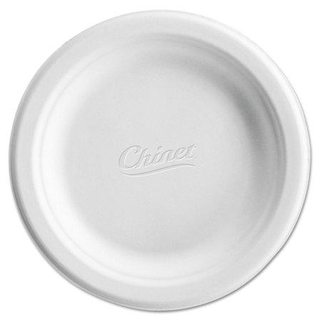 Chinet Classic White Molded Fiber Plates 6 3/4