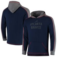 9a4db658 Product Image Atlanta Braves Fanatics Branded Iconic Colorblock Pullover  Hoodie - Navy/Gray